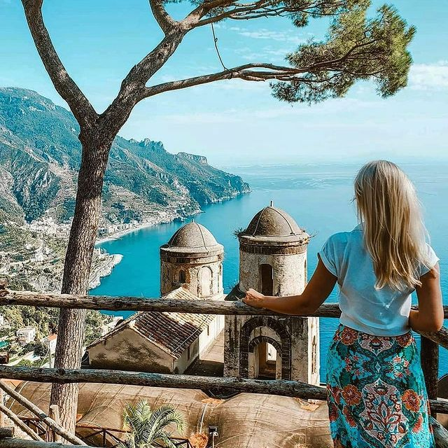 Are you a solo traveller or do you prefer travelling with someone? ? Comment below ⬇️ ? Ravello ? Photo @liralulu * *#enjoythecoast #praiano #duomo #ravelloitaly #italian #lightblue #awesomeearth #amalficoast #bestplacesmagazine #italy_vacations #italiainfoto #praianoitaly #ig_italy #italytrip #ravello #wonderful_places #italian_places #best_italiansites #igersitalia #italy_vacations #traveltheworld #italytrip #destinationearth #earthpix #awesome_earthpix #bestitaliansites