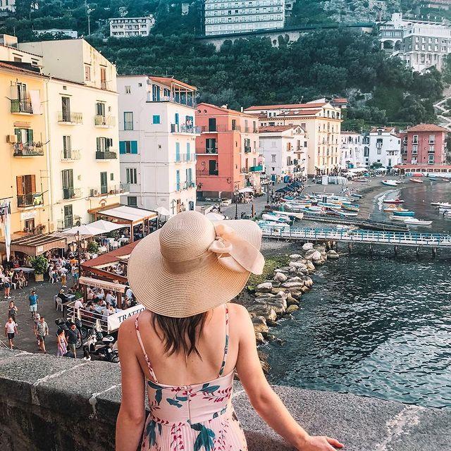 ? SorrentoReady to visit Marina Grande: the colourful fisherman's village of Sorrento? ?️? @tashajsteel *#enjoythecoast #sorrento #positanoitaly #instasorrento #sorrentocoast #best_sorrentocoast #costierasorrentina #positanoamalficoast #igersitalia #italy_vacations #traveltheworld #italytrip #bestplacesmagazine #earthpix #awesome_earthpix #bestitaliansites #bay #beach